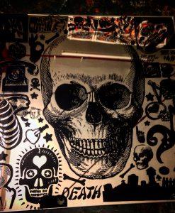 mirror heart in skull