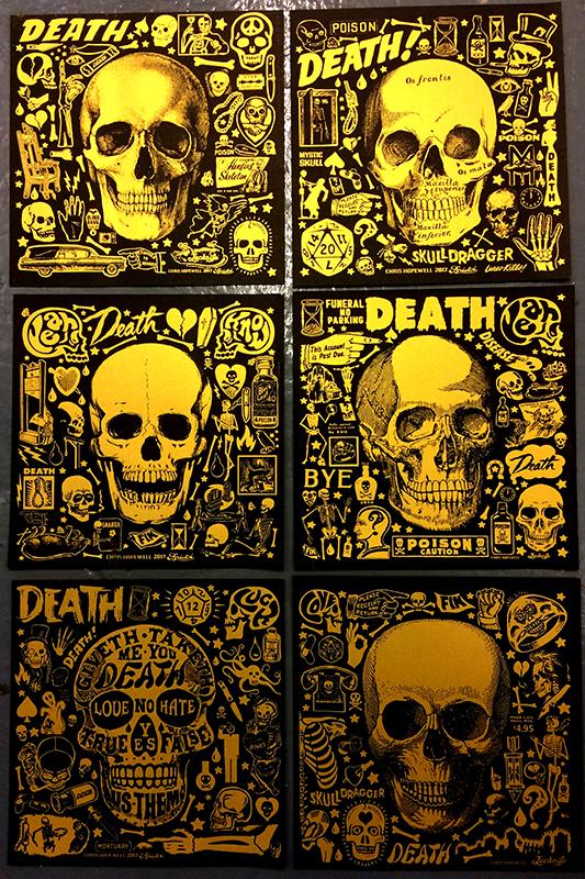 skull prints